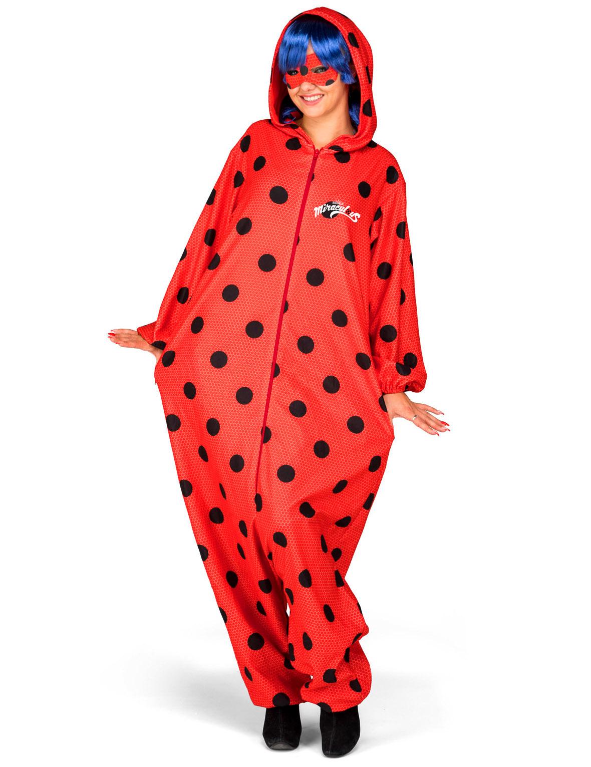 d guisement combinaison ladybug adulte deguise toi achat de d guisements adultes. Black Bedroom Furniture Sets. Home Design Ideas