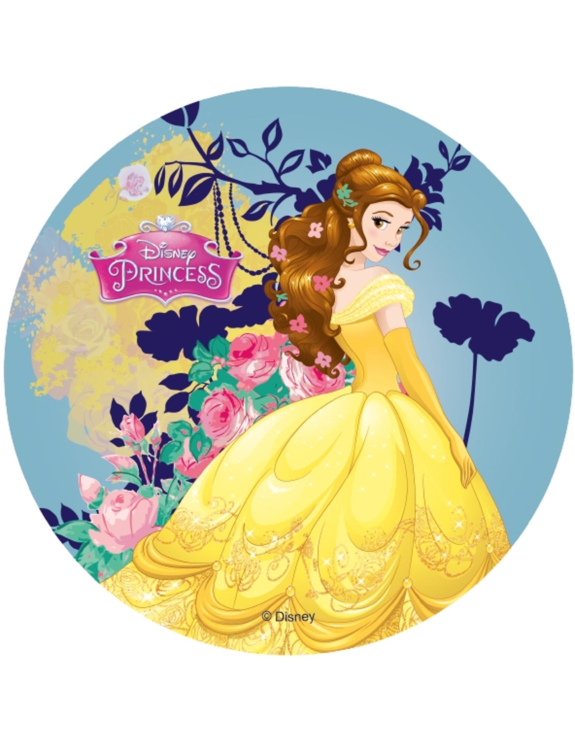 Disque azyme princesses disney belle 14 5 cm deguise - Prince et princesse disney ...
