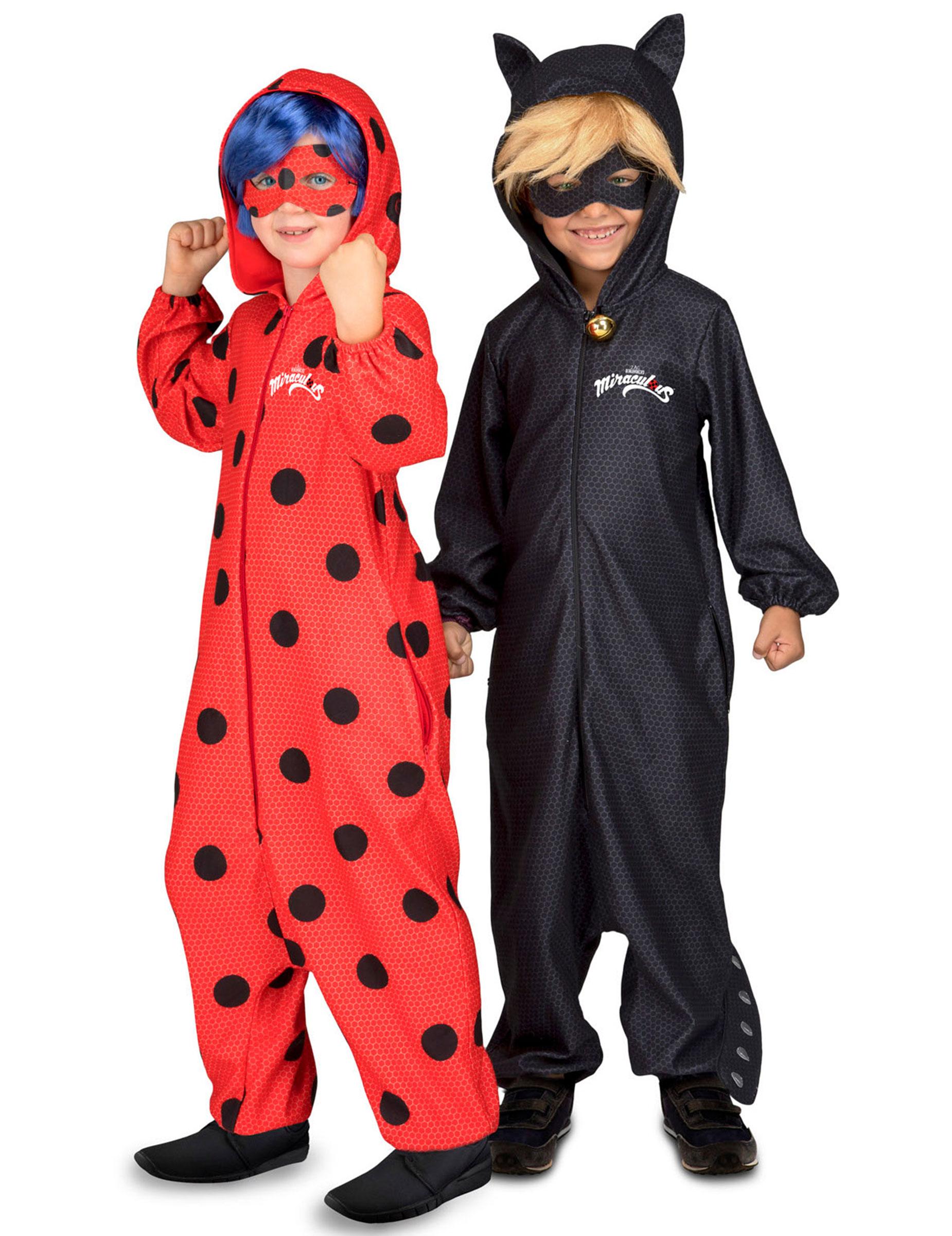 d guisement de couple ladybug et chat noir miraculous. Black Bedroom Furniture Sets. Home Design Ideas