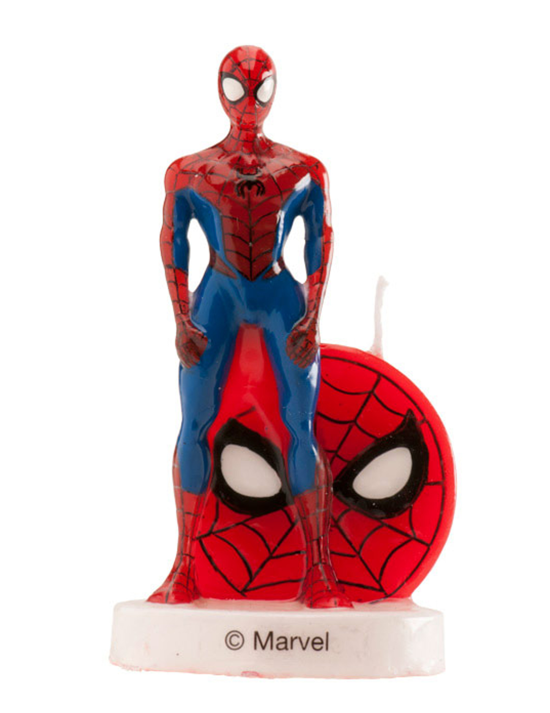 Bougie D Anniversaire Spiderman 3d 6 Cm Deguise Toi Achat De