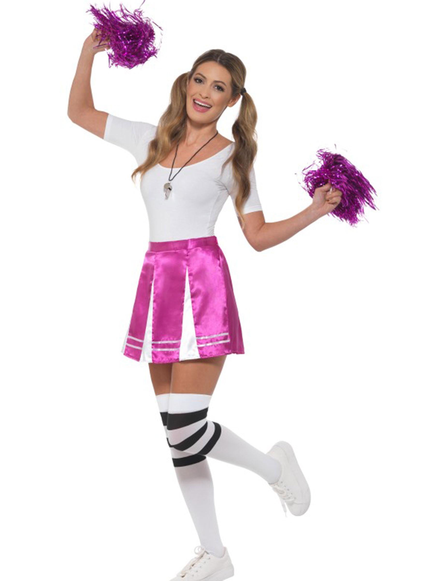 Les Joueurs Accessoire pour Encourager Les Equipes Dilwe Pom-Pom Girl Kit de Pom-Pom Girl avec Capuchon de Goujon Elastique PE Les Matchs Fun KIT Le Public etc