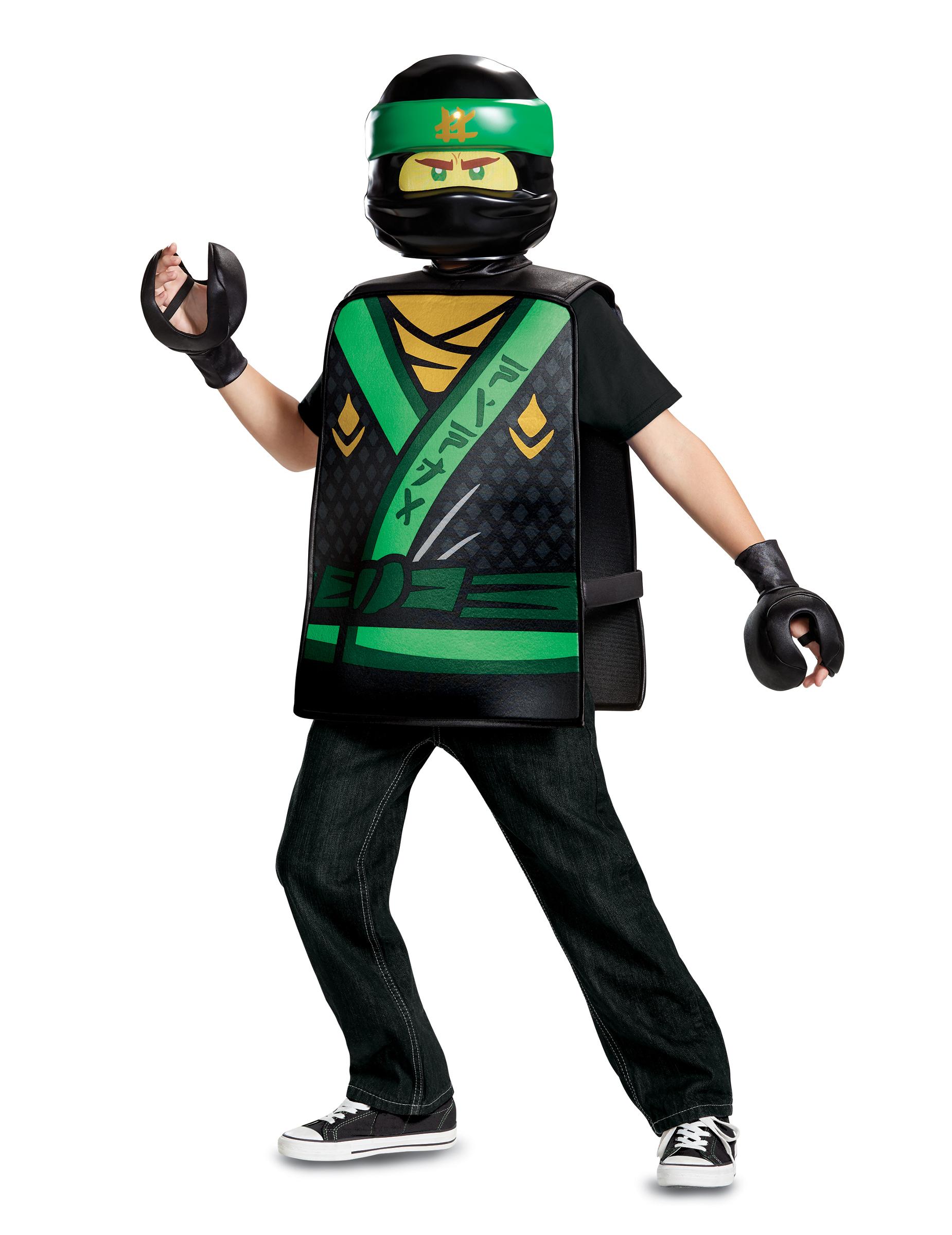 D guisement lloyd ninjago lego vert enfant deguise toi achat de d guisements enfants - Ninja vert lego ...