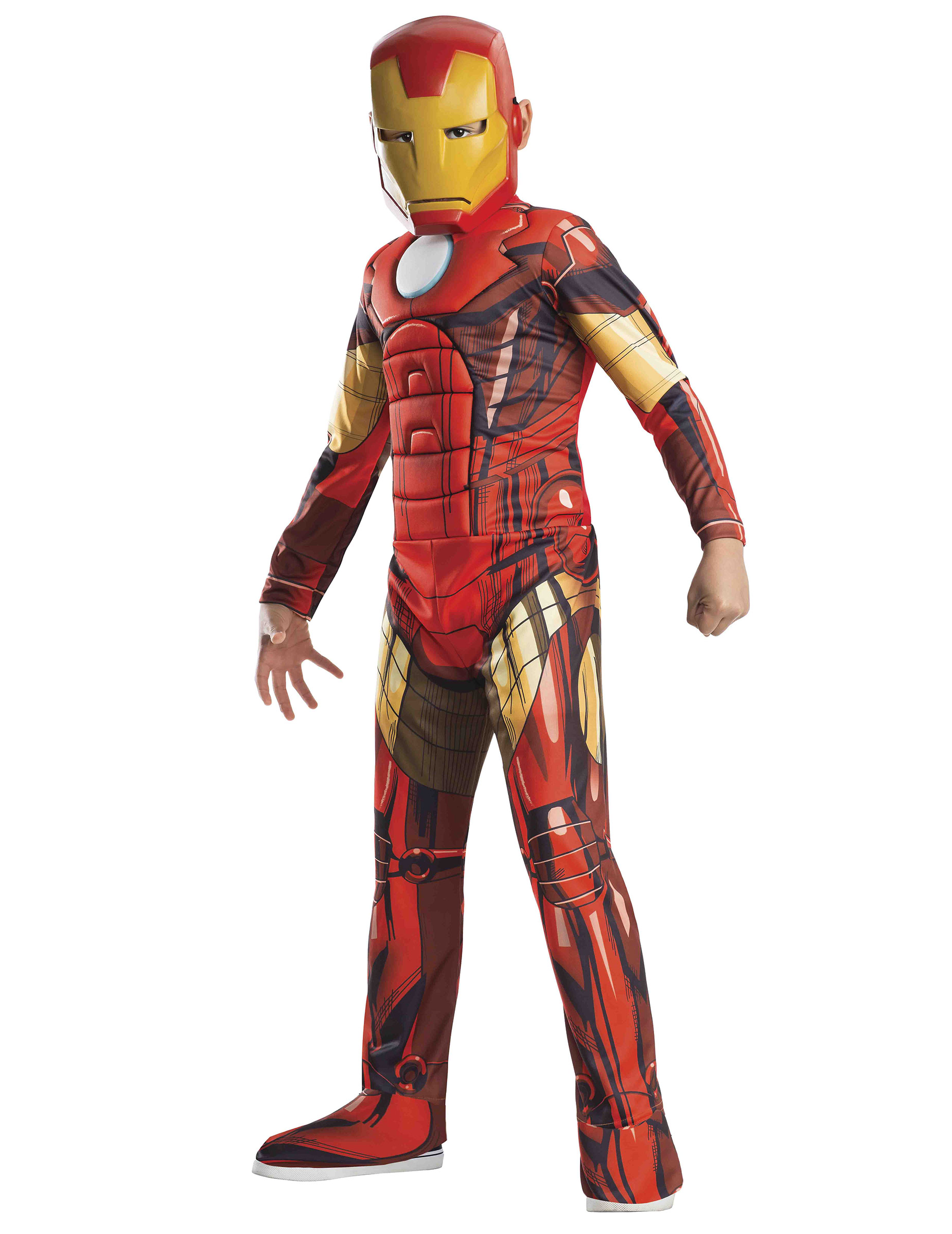 d guisement luxe iron man avengers gar on deguise toi achat de d guisements enfants. Black Bedroom Furniture Sets. Home Design Ideas
