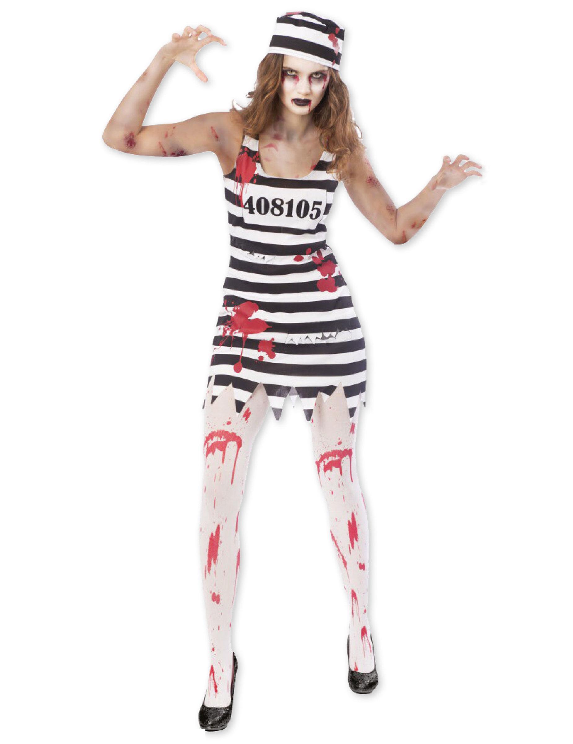 d guisement prisonni re zombie femme deguise toi achat de d guisements adultes. Black Bedroom Furniture Sets. Home Design Ideas