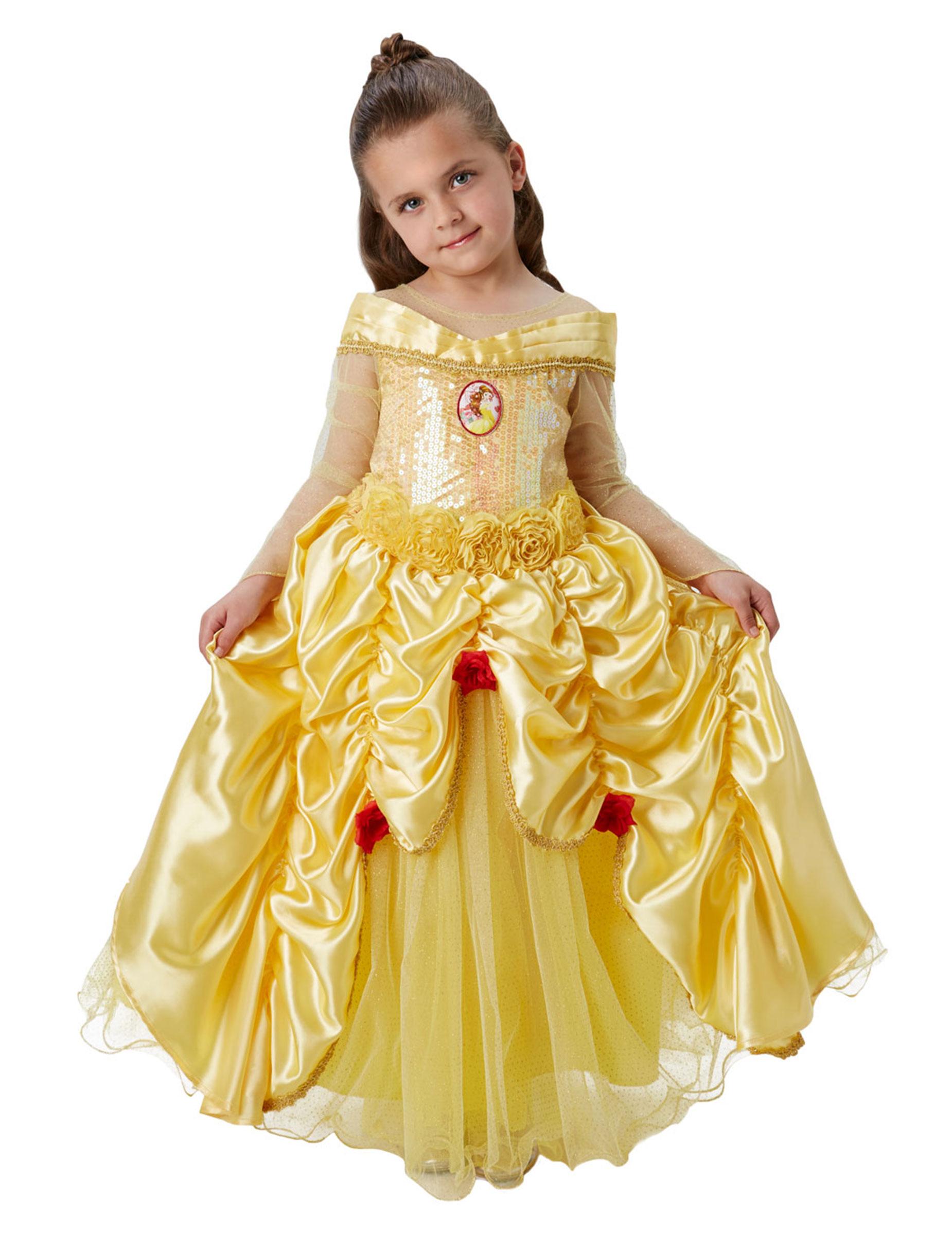 Déguisement premium Belle™ fille   Deguise-toi, achat de ... a908f527210c