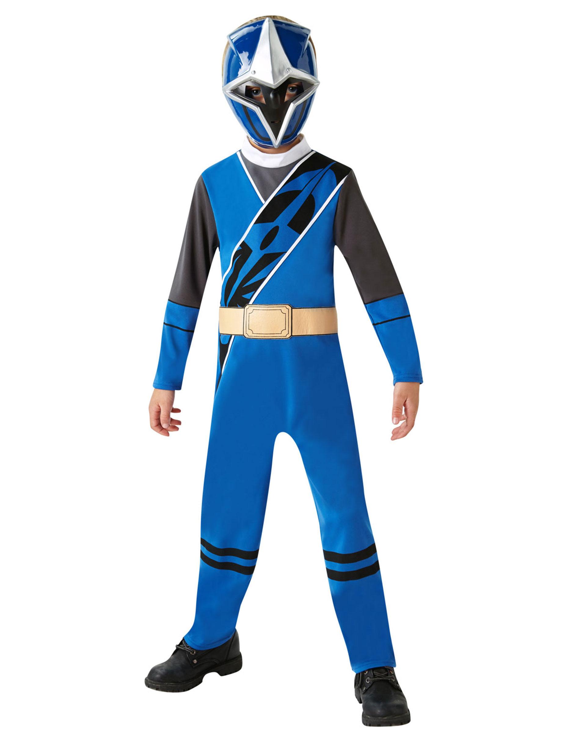 Déguisement Classique Power Rangers Ninja Steel Bleu Enfant