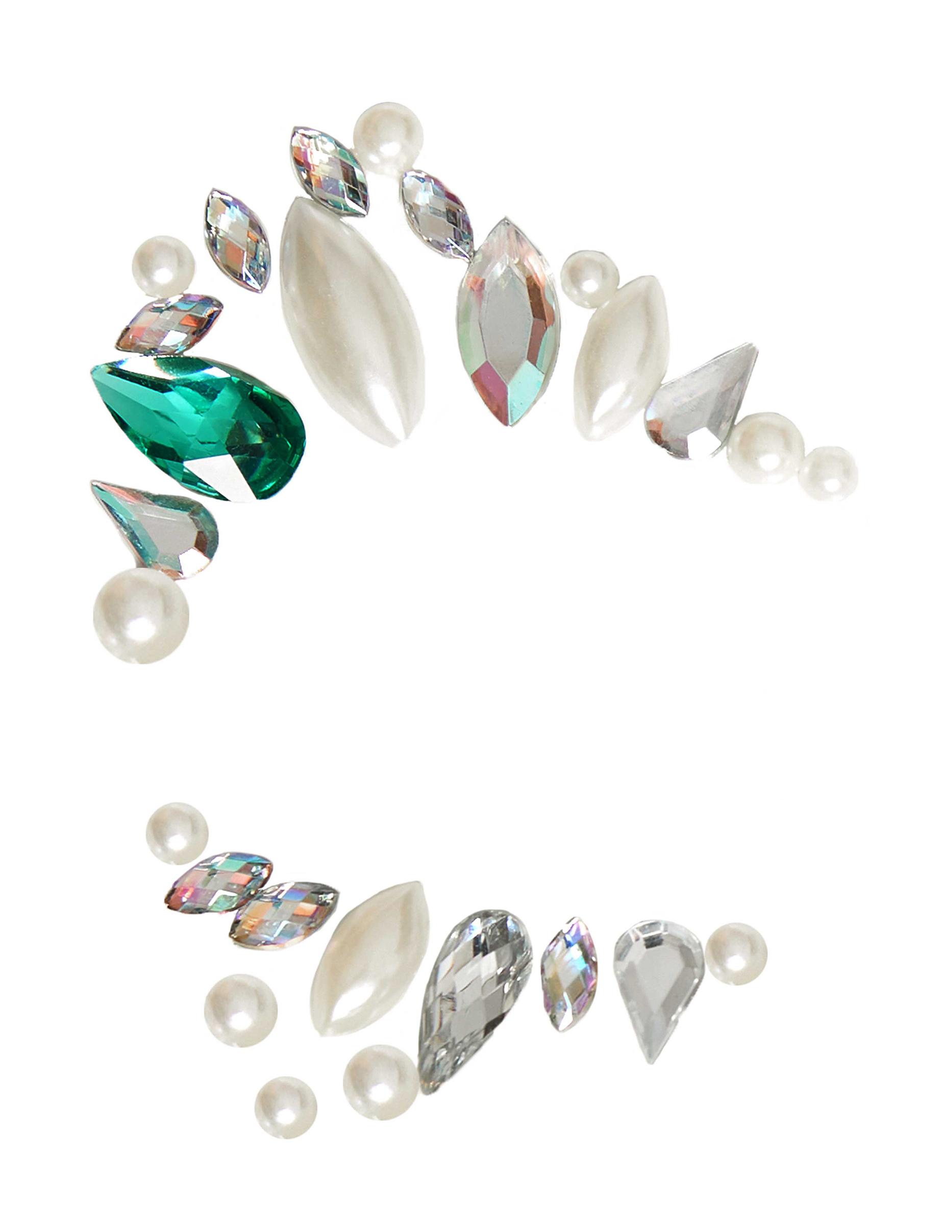 Bijoux pour visage adhésifs princesse adulte   Deguise-toi a70a7b2141e