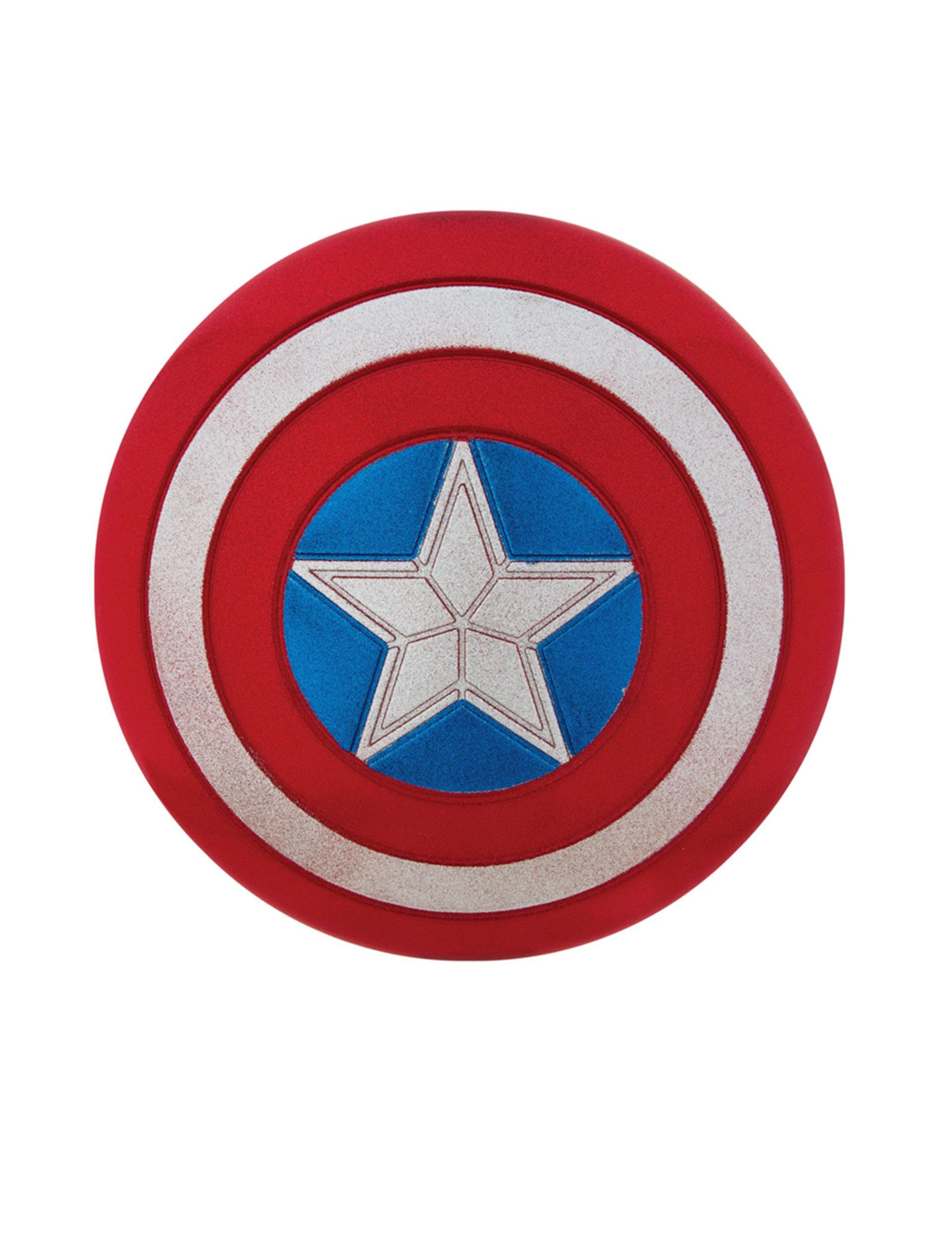 Bouclier paillet captain america 30 cm deguise toi achat de accessoires - Captain america fille ...