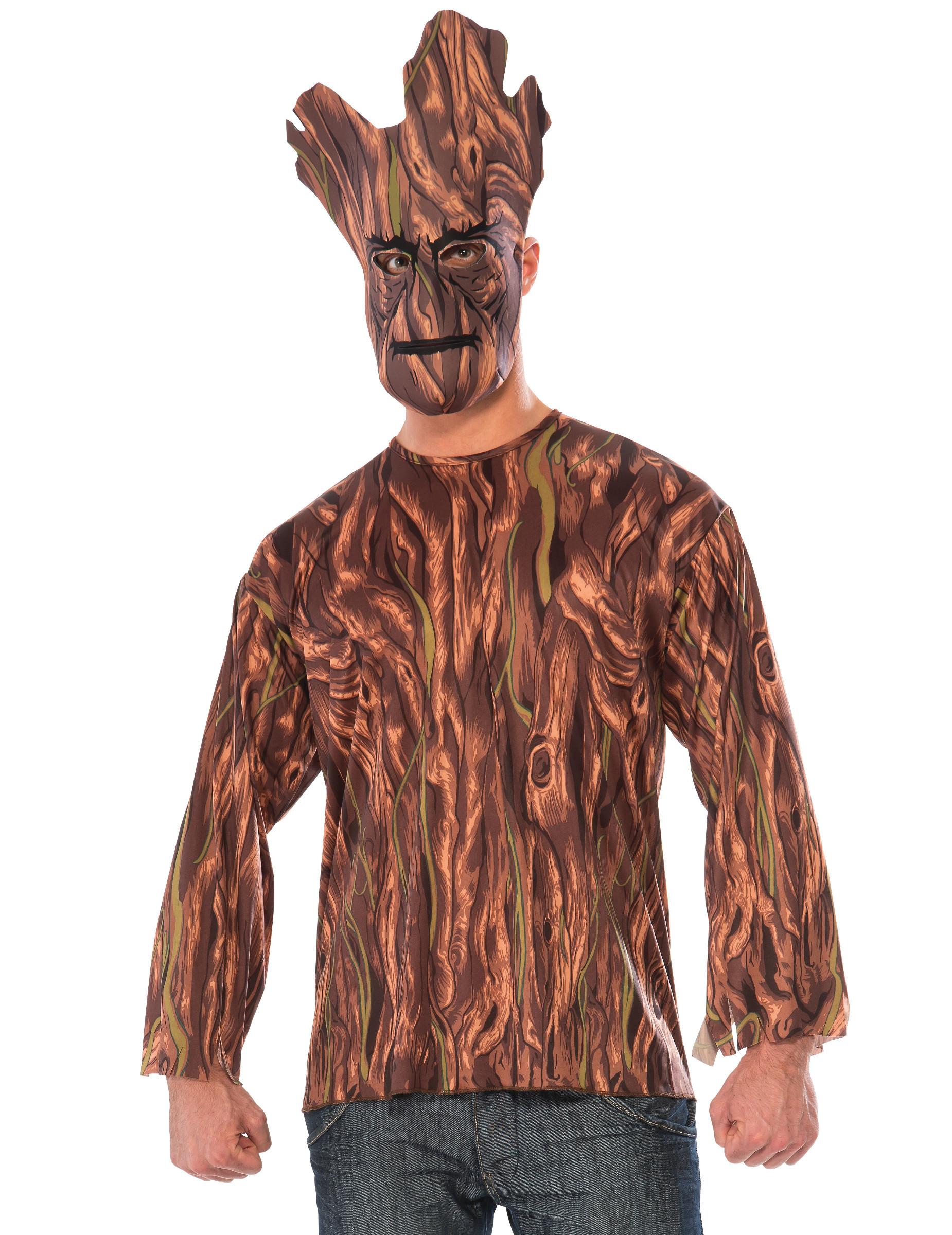 T-shirt et masque Groot Les Gardiens de la Galaxie™ adulte   Deguise ... a791783751b