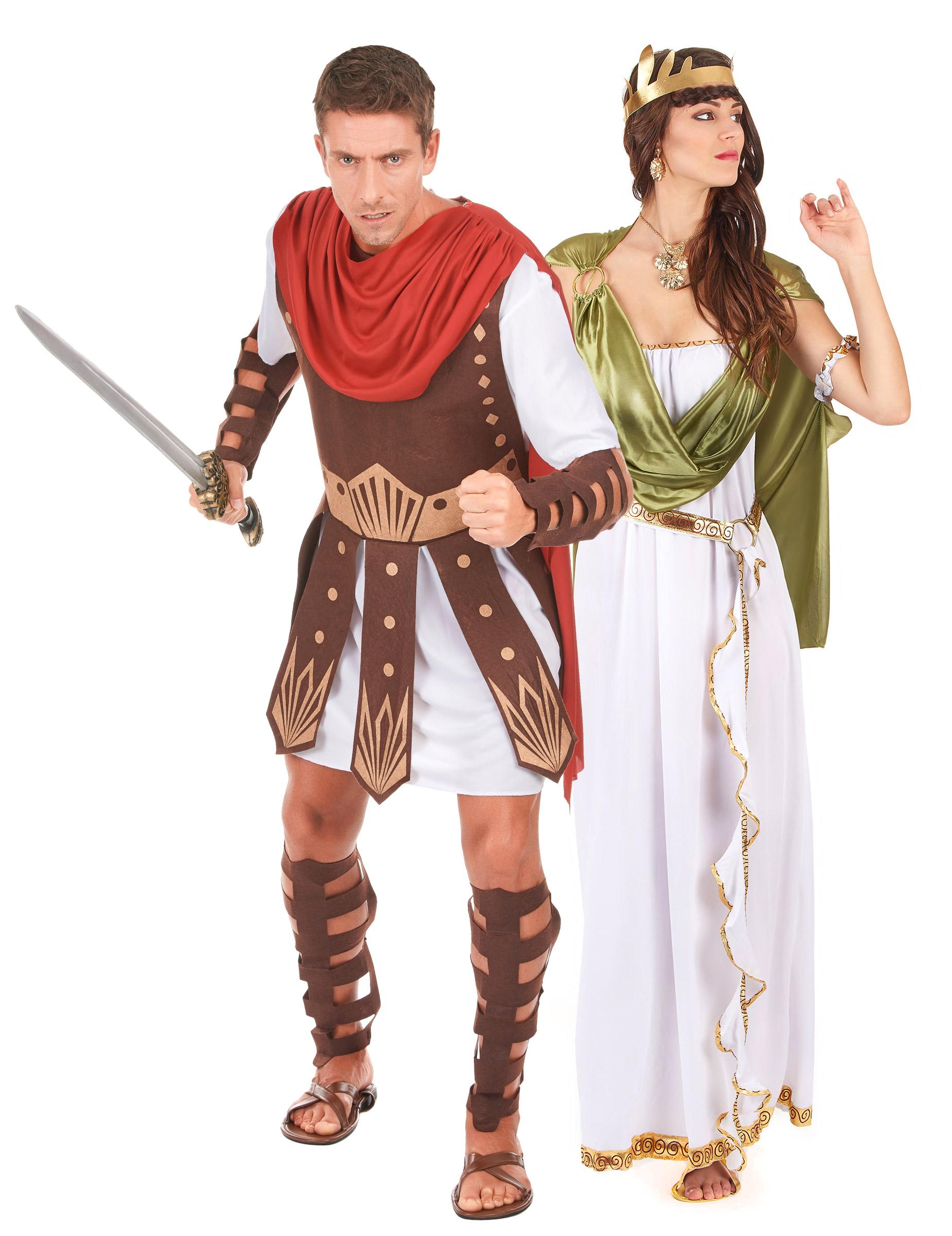 1561adb631cf7 Déguisement couple gladiateur et déesse Greco Romaine   Deguise-toi ...
