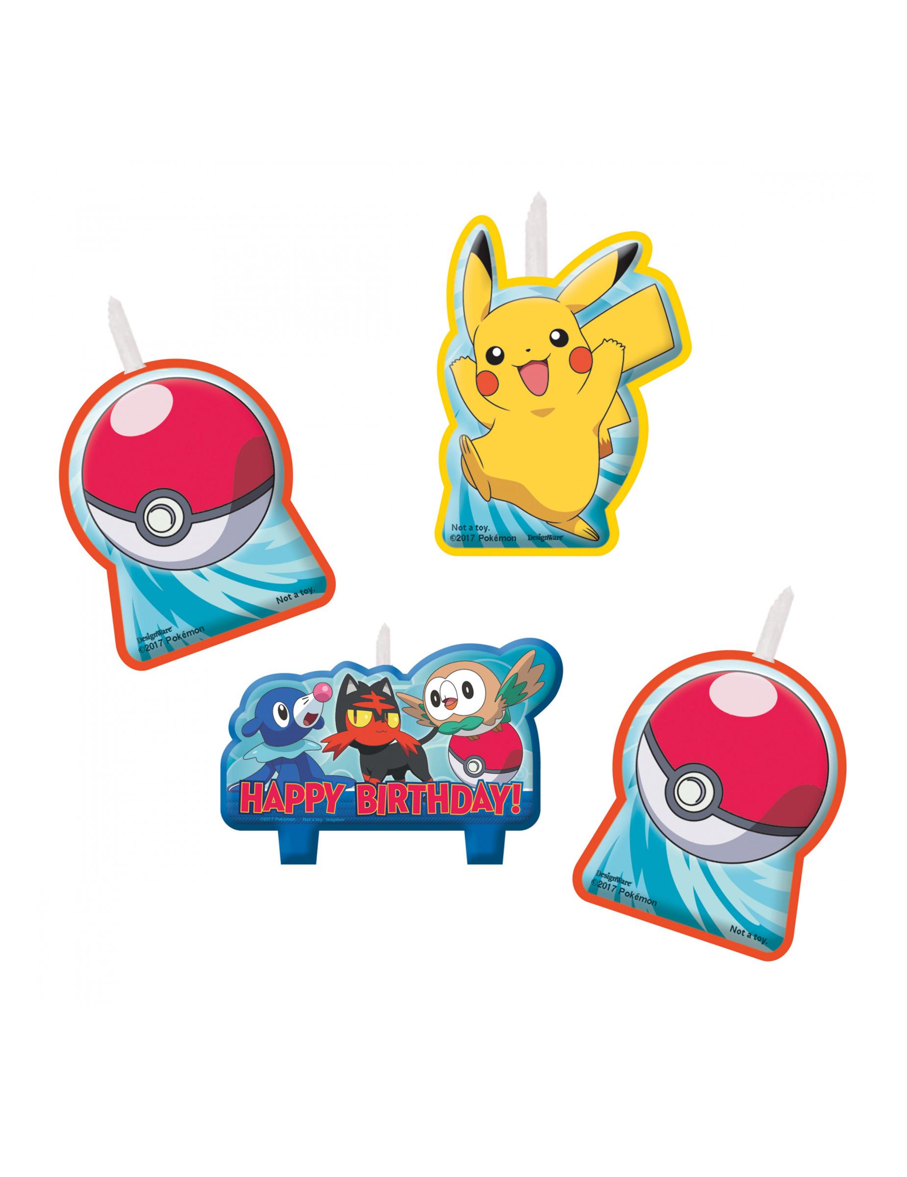 Kit anniversaire pokemon - Achat Kit anniversaire pokemon pas cher ...