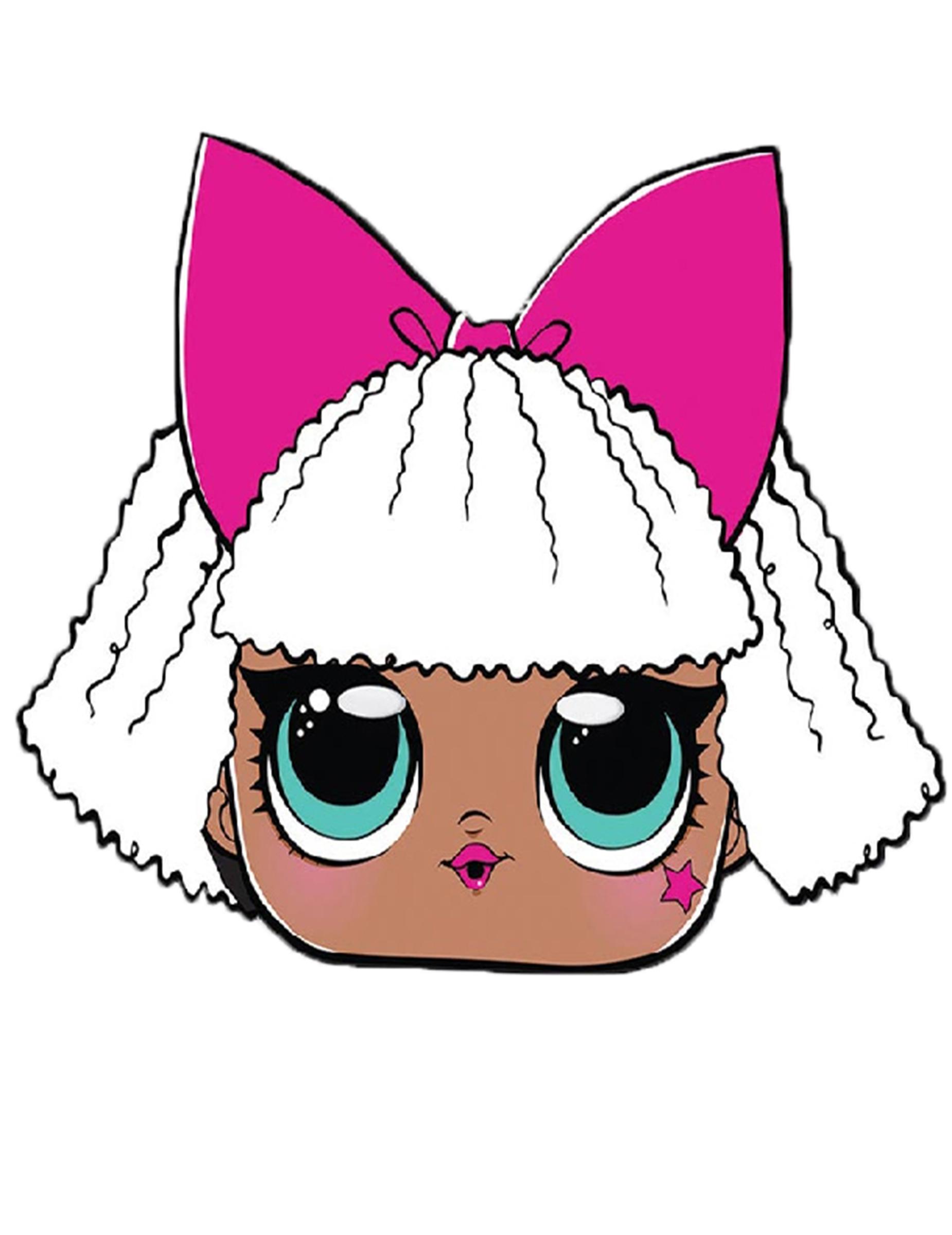 Masque En Carton Diva Lol Surprise Deguise Toi Achat De Masques