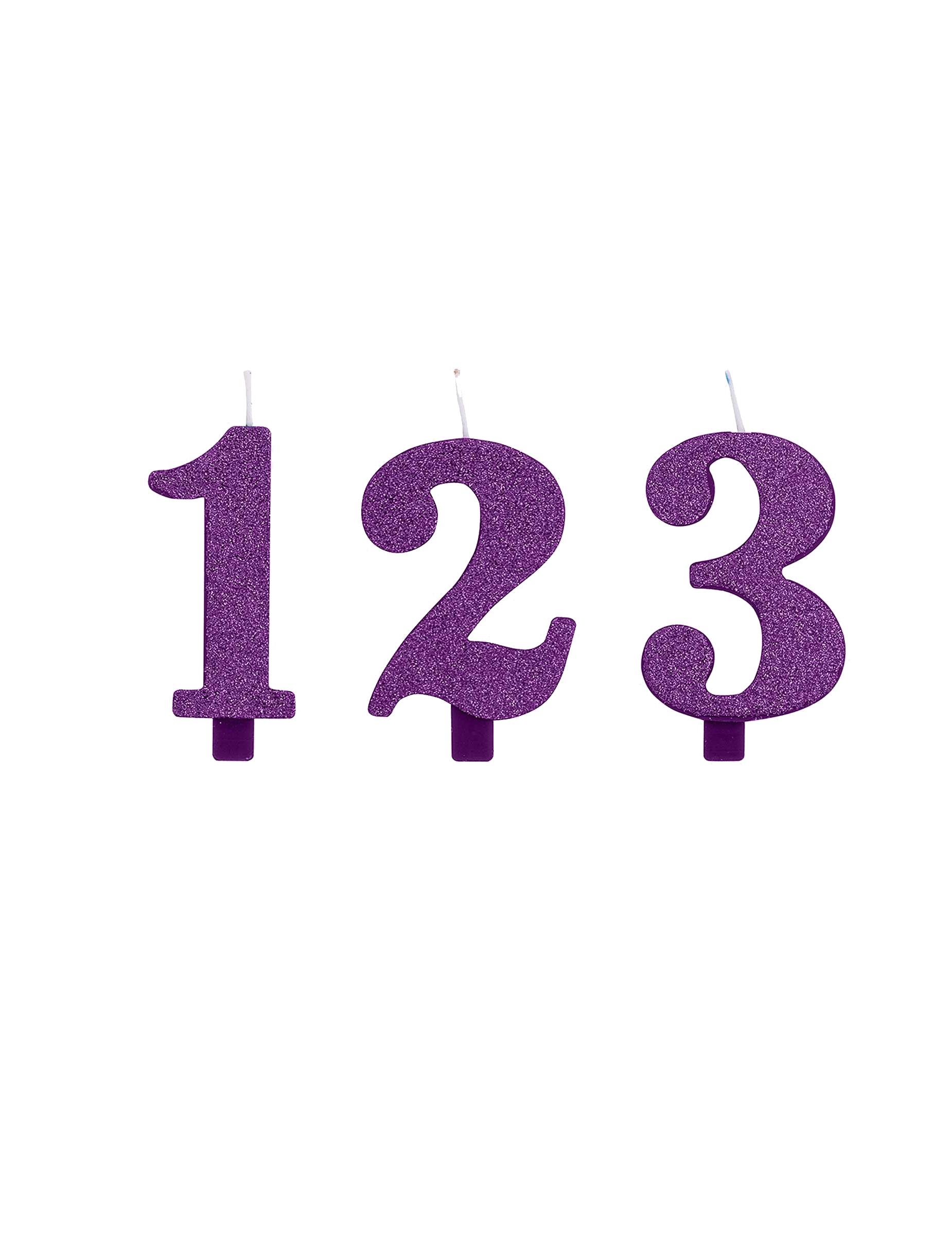 Bougie chiffre 6 anniversaire fête d/'anniversaire pour 16 60 Bougie d/'anniversaire