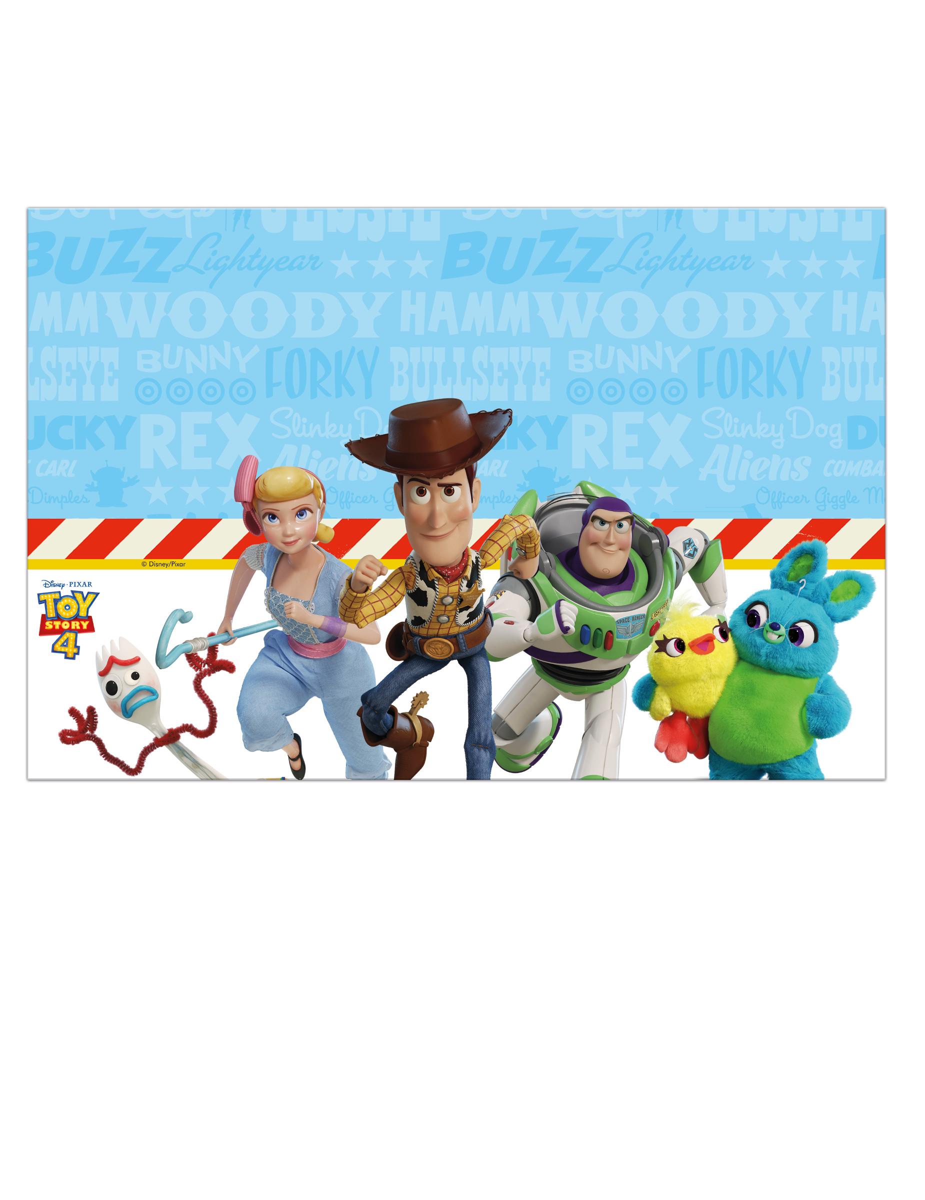 Nappe En Plastique Toy Story 4 120 X 180 Cm