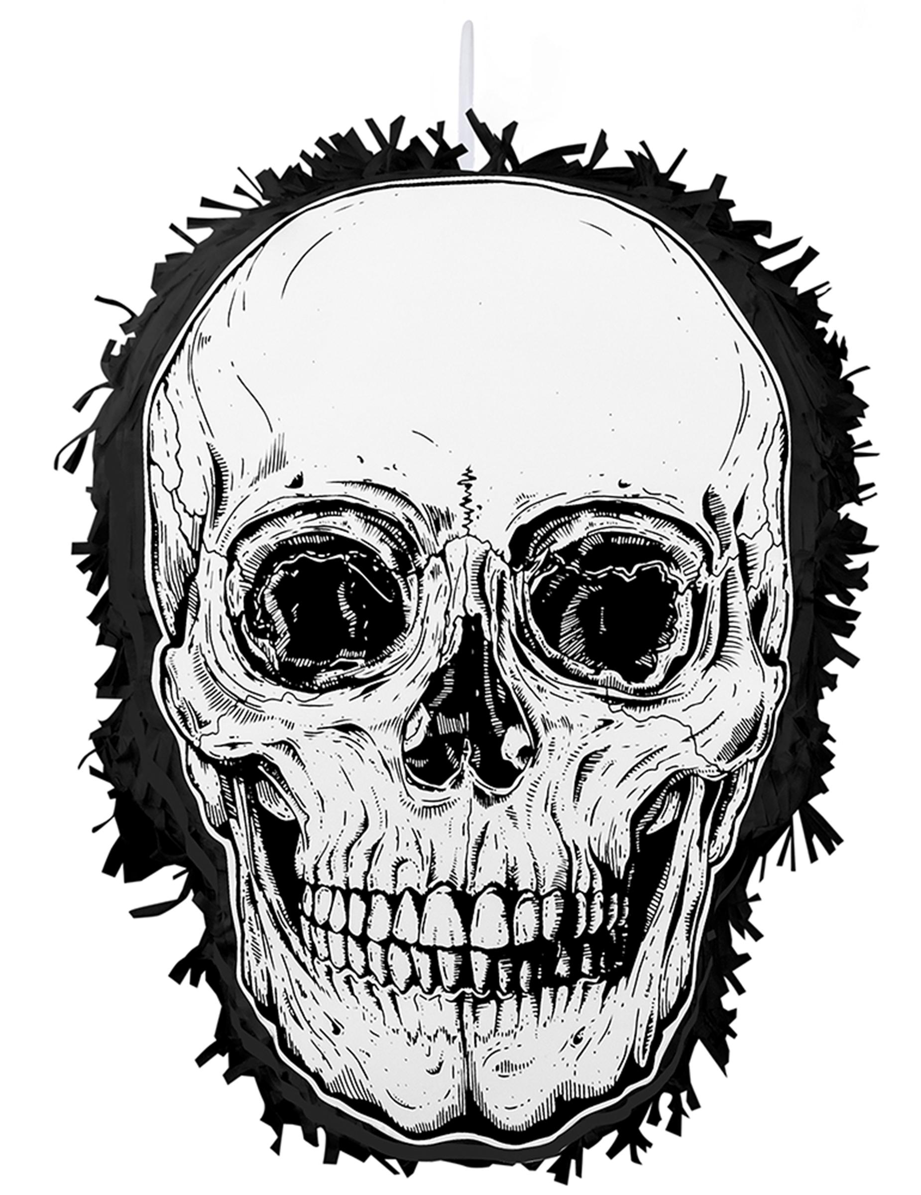 Pinata Tete De Mort 35 X 25 Cm Deguise Toi Achat De Decoration Animation