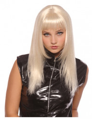 Perruque blonde lisse femme