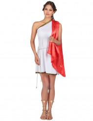 Déguisement déesse romaine courte femme