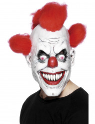 Masque terrifiant de clown adulte Halloween