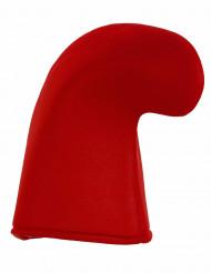 Bonnet lutin rouge adulte