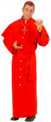Déguisement cardinal rouge homme