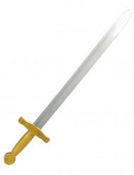 Epée chevalier médiéval enfant en plastique 65 cm
