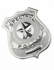 Badge de policier métal adulte