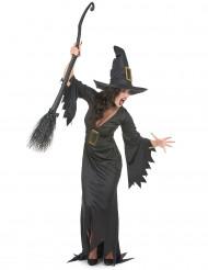 Déguisement long sorcière femme Halloween