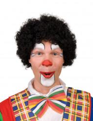 Perruque afro clown noire adulte