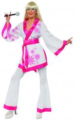 Déguisement Chinoise disco femme