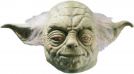 Masque latex luxe maître Yoda Star Wars™adulte