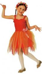 Déguisement fée ballerine rouge fille