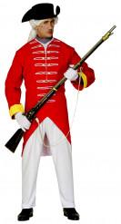 Déguisement soldat anglais homme