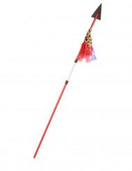 Lance indien en plastique 110 cm