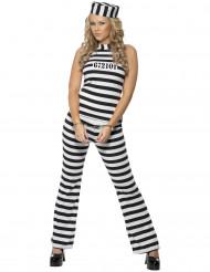 Déguisement prisonnière femme