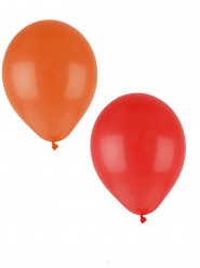 24 Ballons orange 30 cm