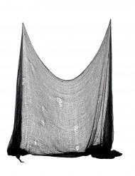 Décoration drap noir Halloween