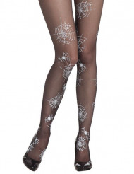 Collants noirs toile d