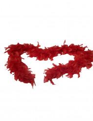 Boa rouge 100 cm