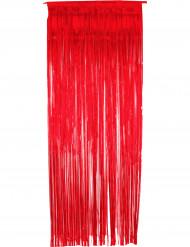 Rideau scintillant rouge