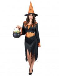 Déguisement sorcière araignée femme Halloween