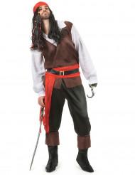 Déguisement pirate pantalon noir homme