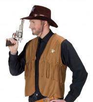 Pistolet factice de cowboy de 26cm