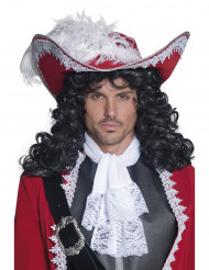 Chapeau pirate rouge adulte