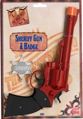 Pistolet western adulte