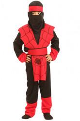 Déguisement ninja araignée garçon