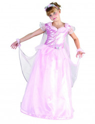 Déguisement princesse avec voile fille