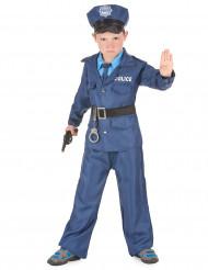 Déguisement policier bleu enfant