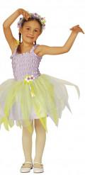 Déguisement fée ballerine violette fille
