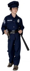 Déguisement policier avec insigne garçon