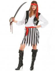 Déguisement pirate des mers femme